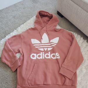 Pink adidas hoodie